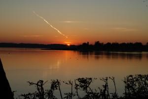 Sonnenuntergang_Chiemsee